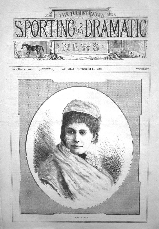 Miss Pattie Bell. 1882