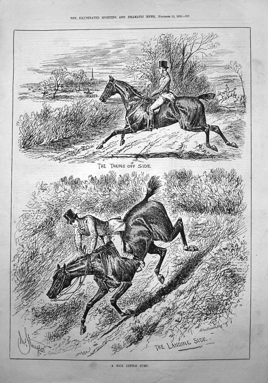 A Nice Little Jump. 1882