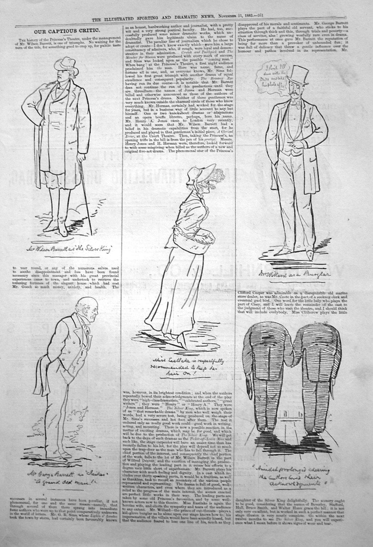 Our Captious Critic. November 25th 1882.
