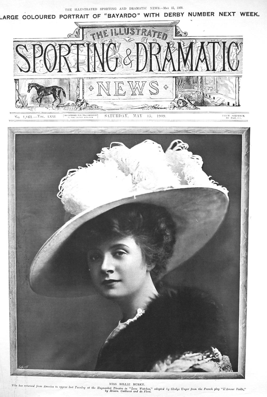 Miss Billie Burke. 1909.