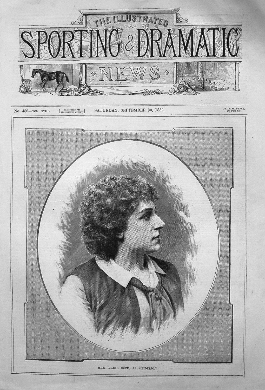 Mme. Marie Roze, as