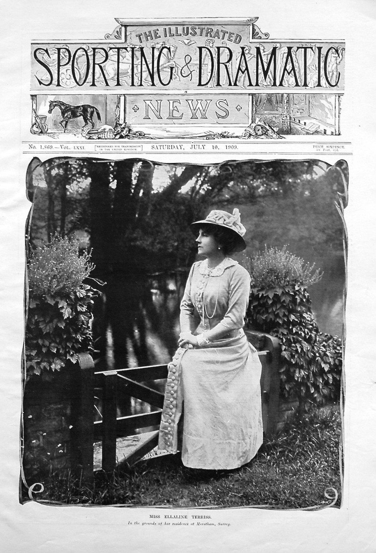 Miss Ellaline Terriss. 1909
