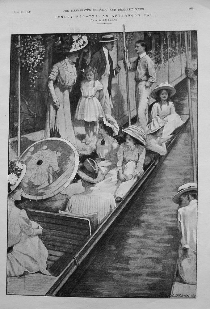 Henley Regatta. - An Afternoon Call. 1909