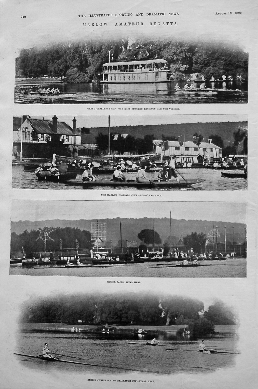 Marlow Amateur Regatta. 1899