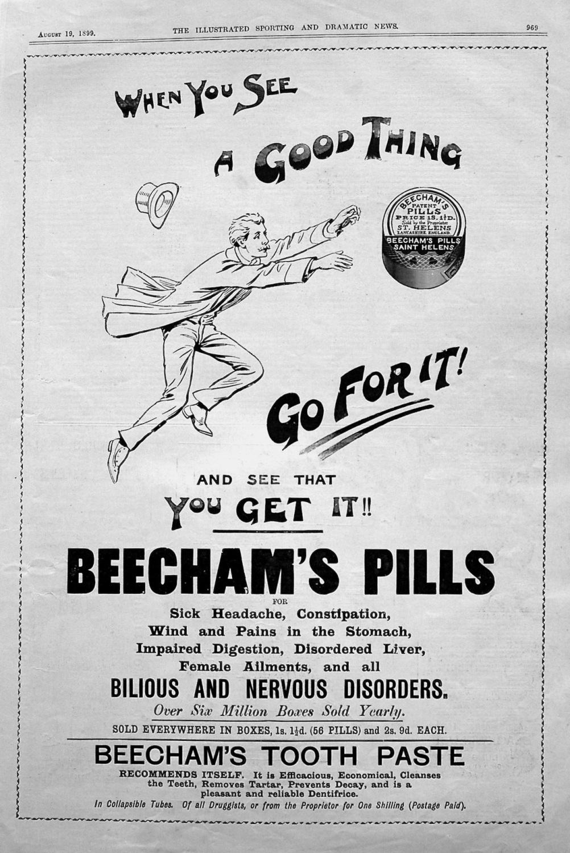 Beecham's Pills. August 1899
