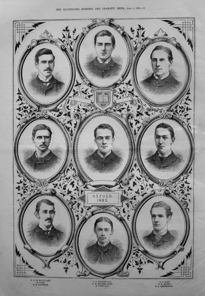 Oxford Crew for 1882.