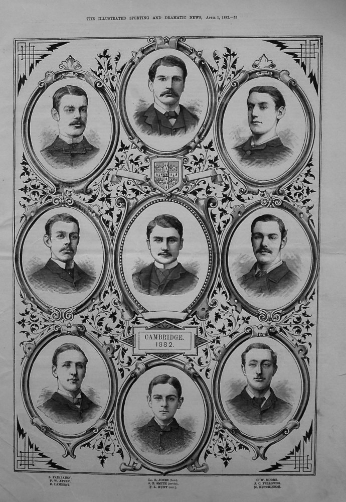 Cambridge Crew 1882.