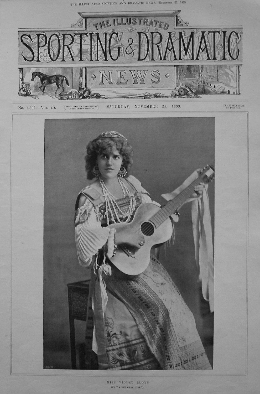 Miss Violet Lloyd. (in