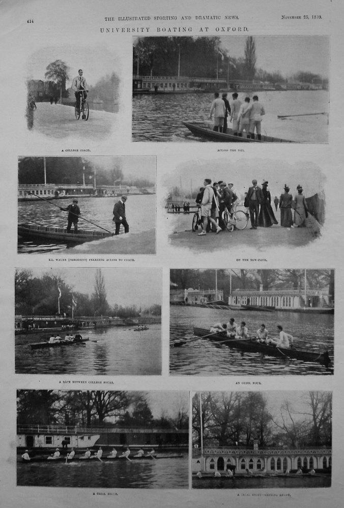 University Boating at Oxford. 1899