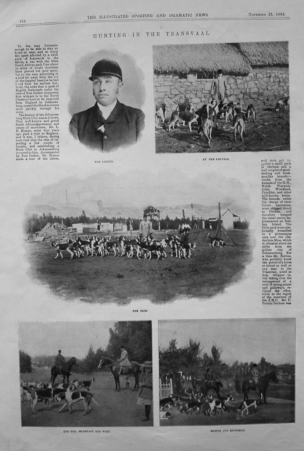 Hunting in the Transvaal. 1899