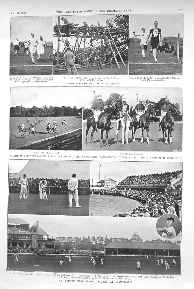 Army Athletic Meeting at Aldershot. 1909