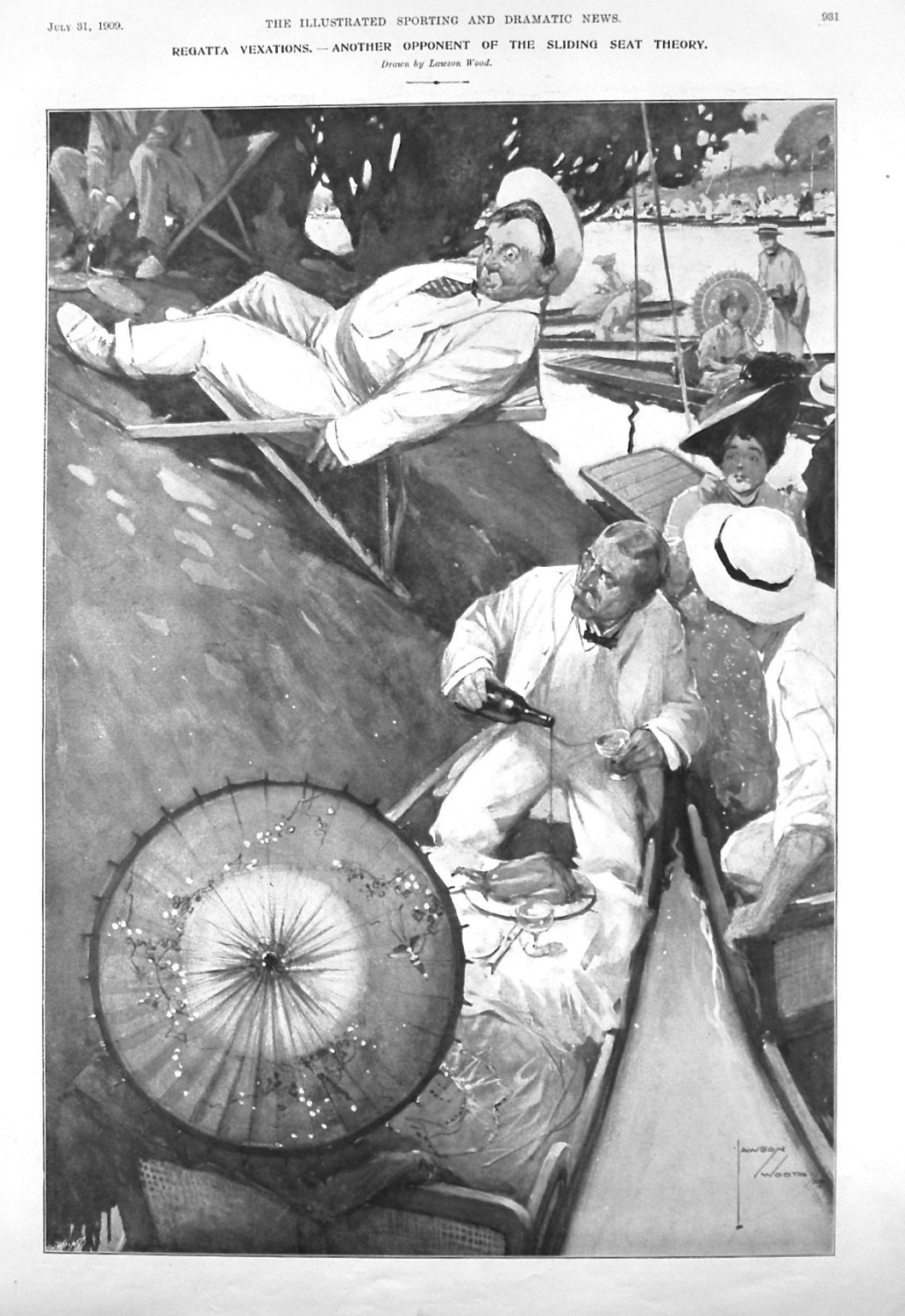 Regatta Vexations. - Another Opponent of the Sliding Seat Theory. 1909