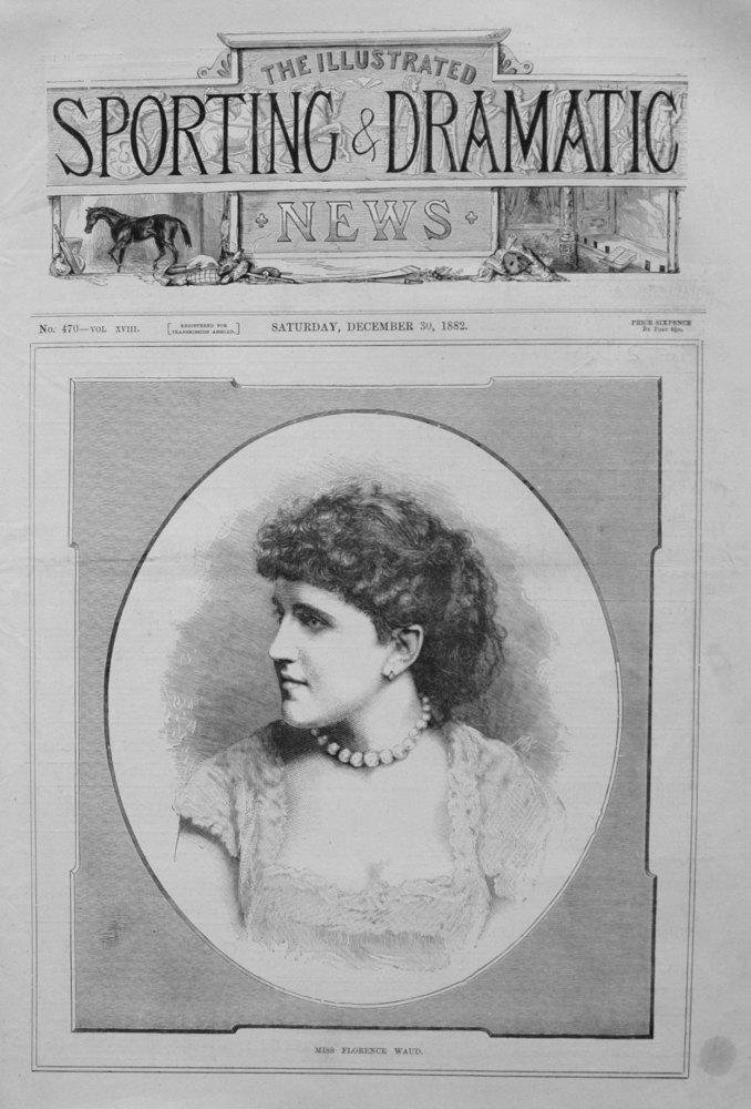Miss Florence Waud. 1882