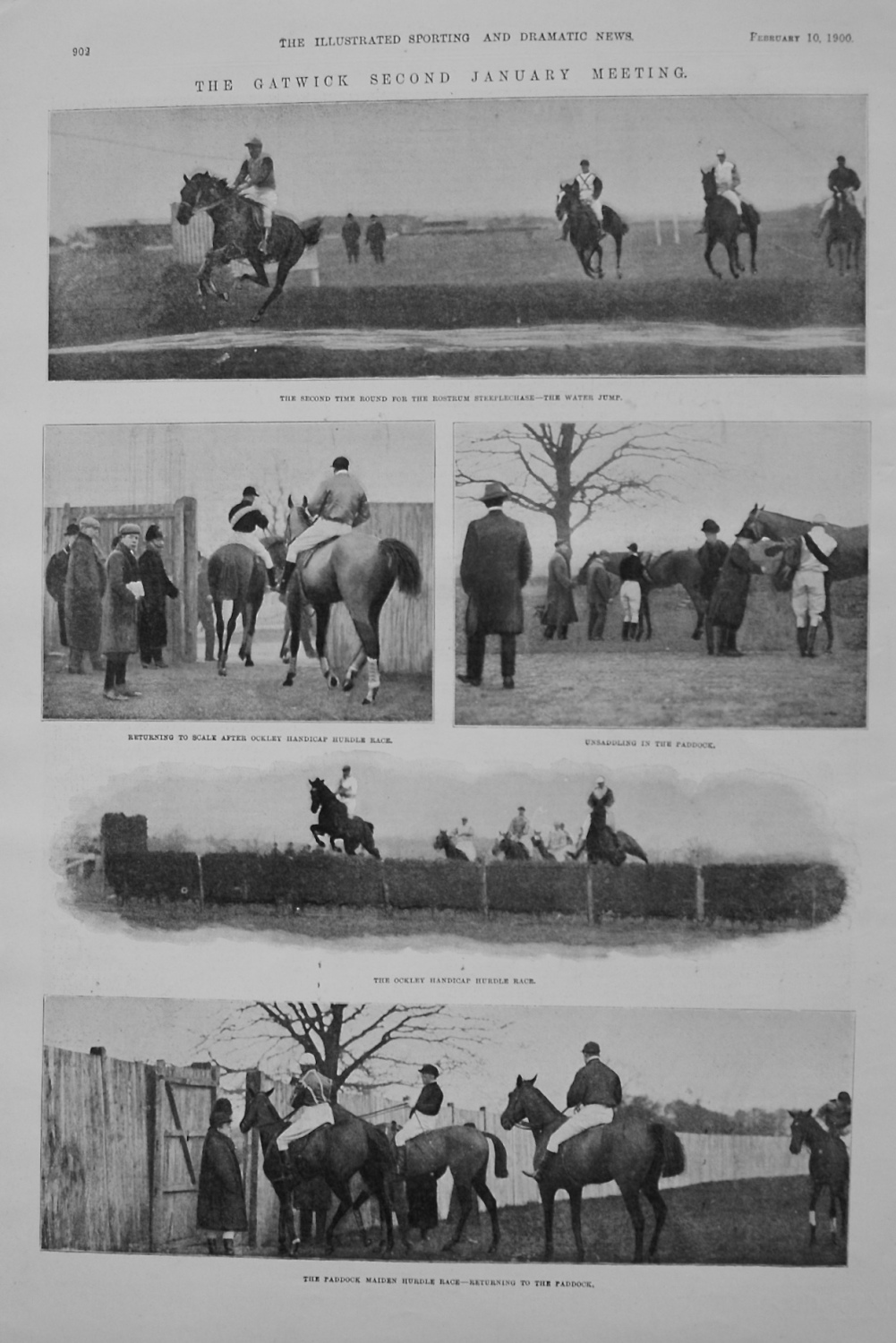 The Gatwick Second January Meeting. 1900