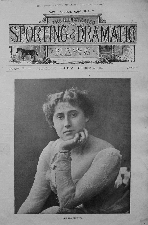 Miss Lily Hanbury. 1899