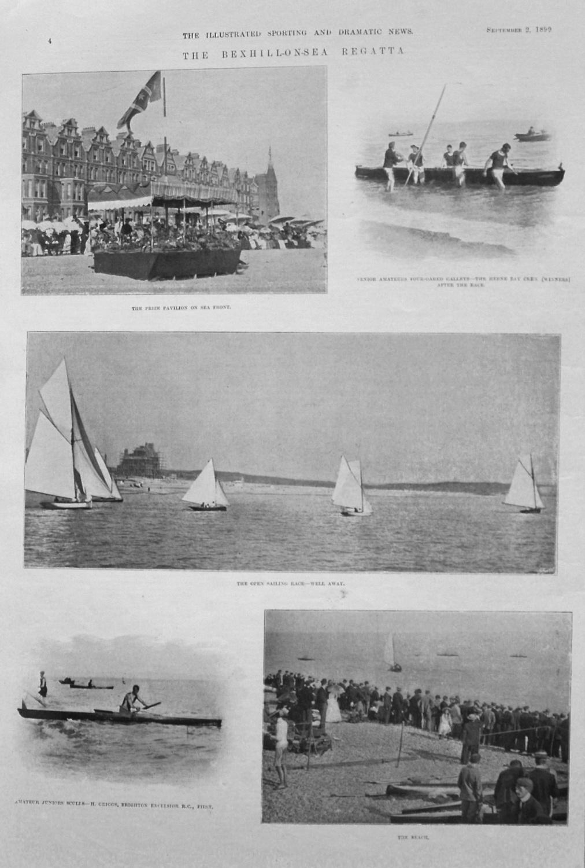 Bexhill-on-Sea Regatta. 1899