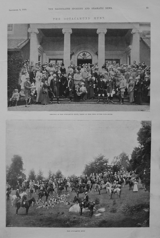 The Ootacamund Hunt. 1899
