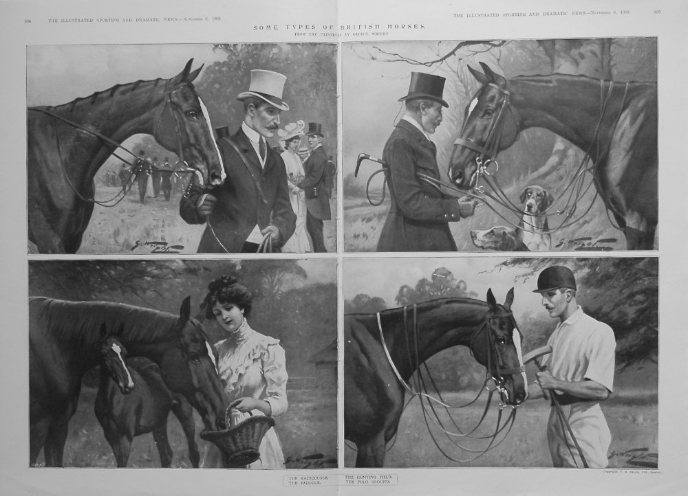 Some Types of British Horses. 1909