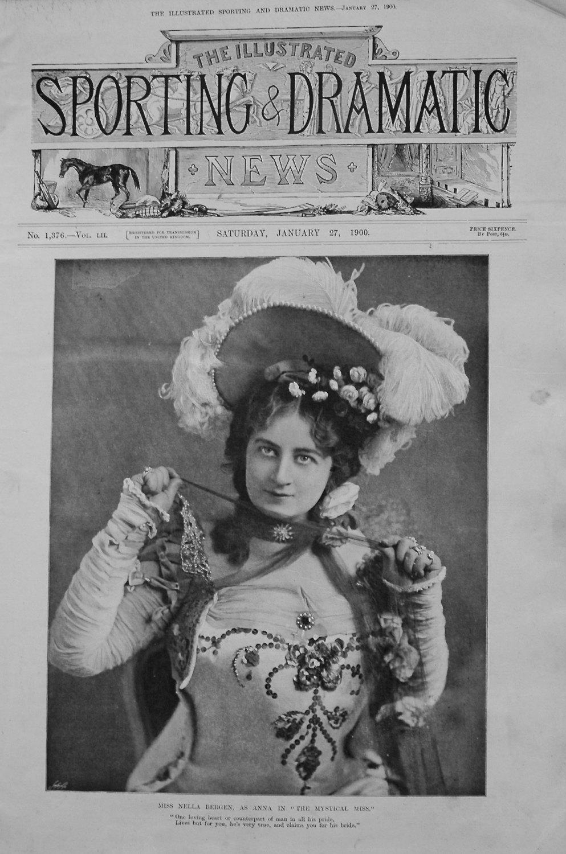 Miss Nella Bergen, as Anna in