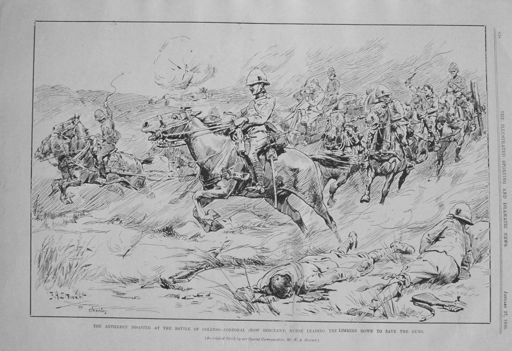 The Artillery Disaster at the Battle of Colenso - Corporal (Now Sergeant) N