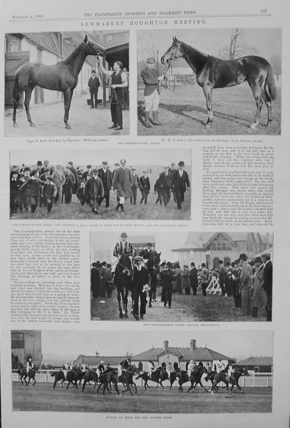 Newmarket Houghton Meeting. 1899