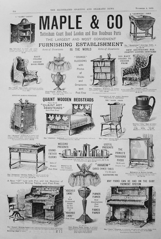 Maple & Co. 1899