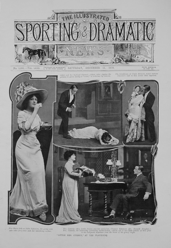"""Little Mrs. Cummin,"" at the Playhouse."