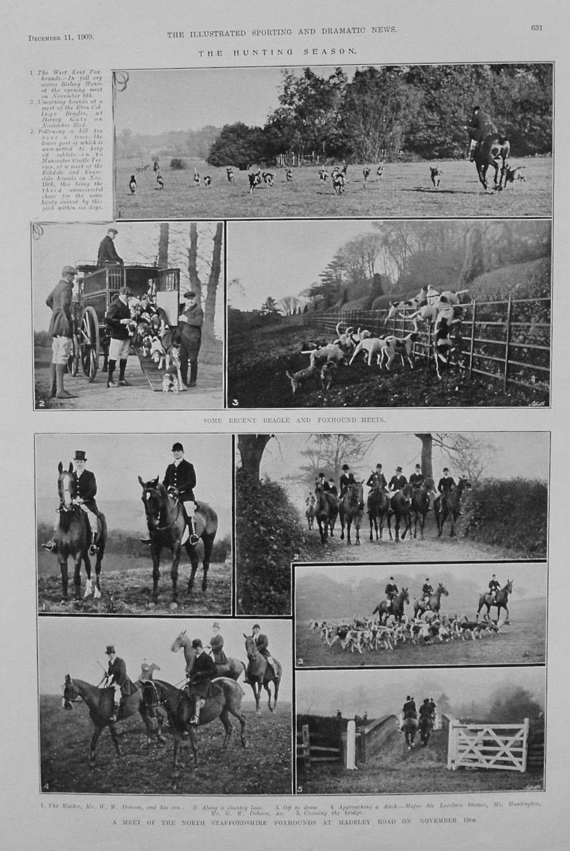 The Hunting Season. 1909