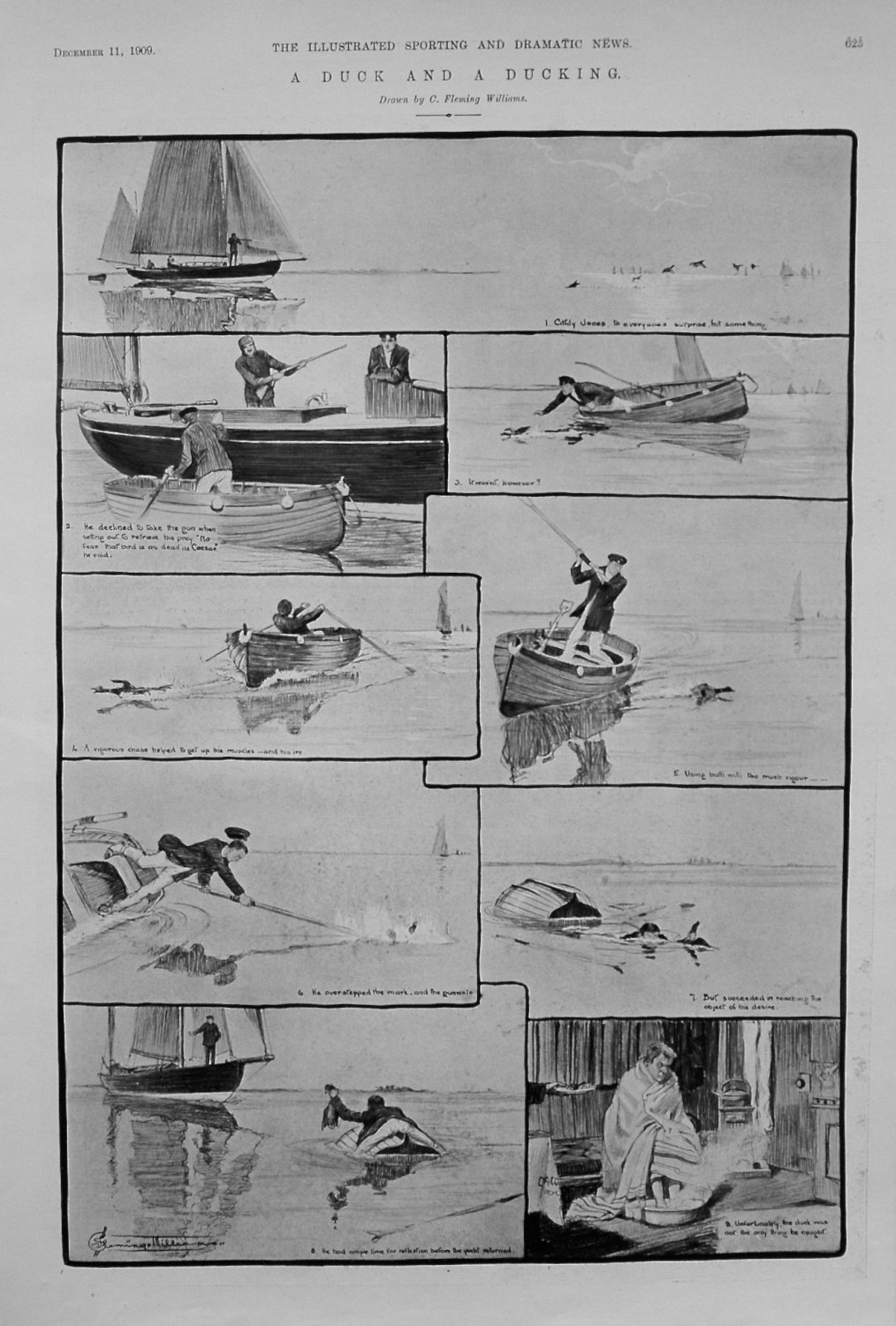 A Duck and a Ducking. 1909