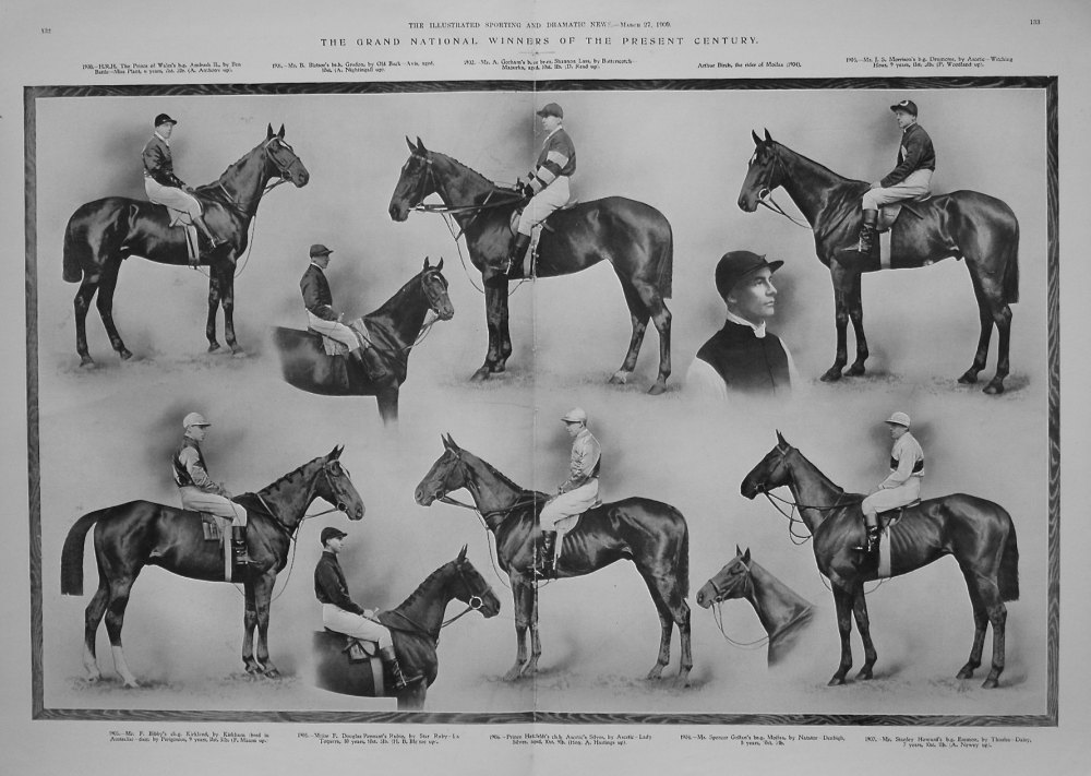 The Grand National Winners of the Present Century. 1909