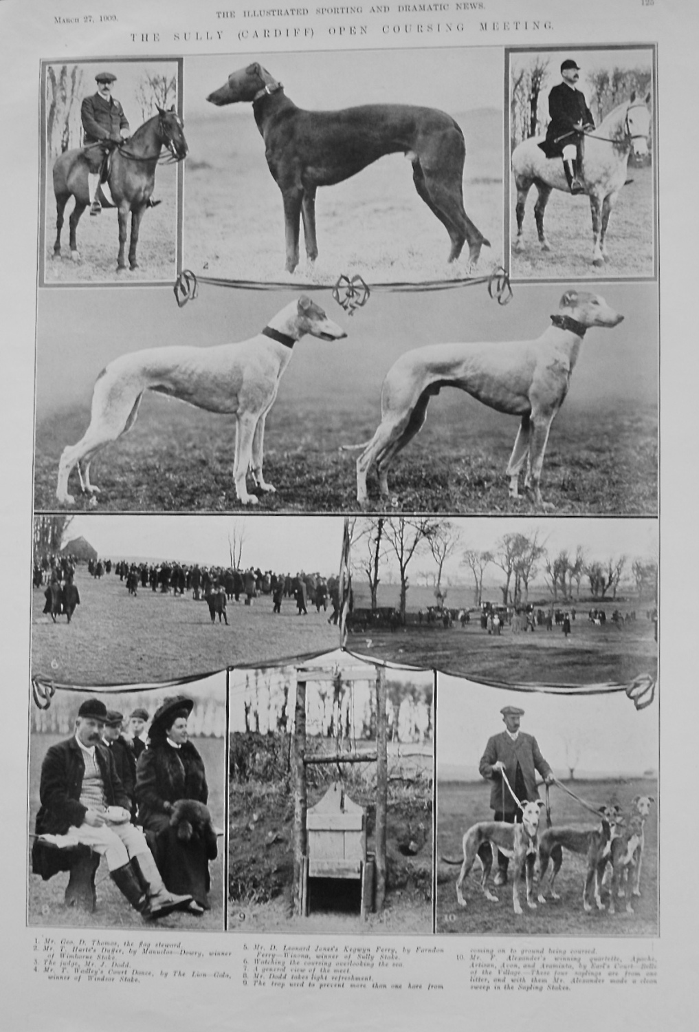 The Sully (Cardiff) Open Coursing Meeting. 1909
