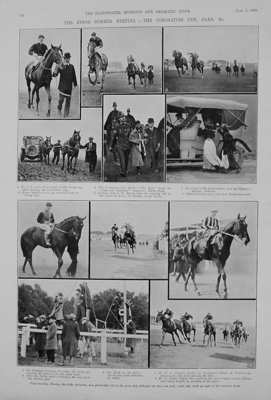 The Epsom Summer Meeting. - The Coronation Cup, Oaks, &c. 1909