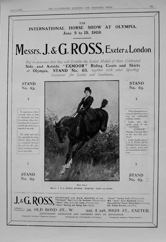 Messrs. J. & G. Ross, Exeter & London. 1909