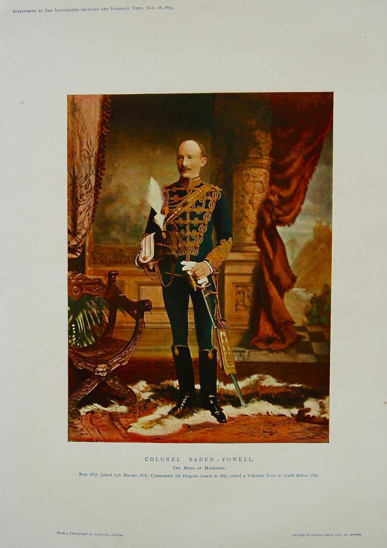 Colonel Baden-Powell. 1899