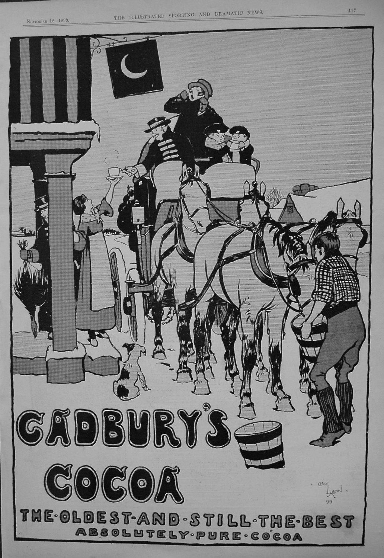 Cadbury's Cocoa. 1899