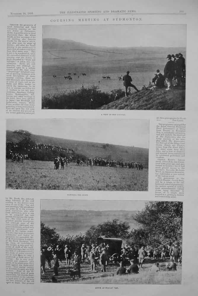 Coursing Meeting at Sydmonton. 1899