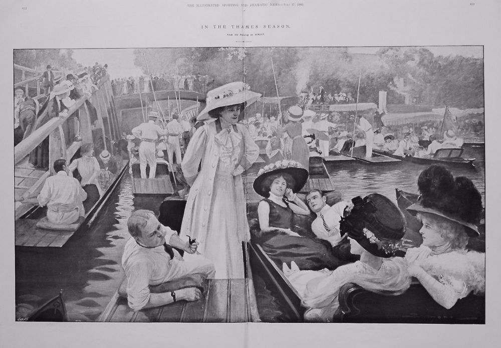 In the Thames Season. 1909