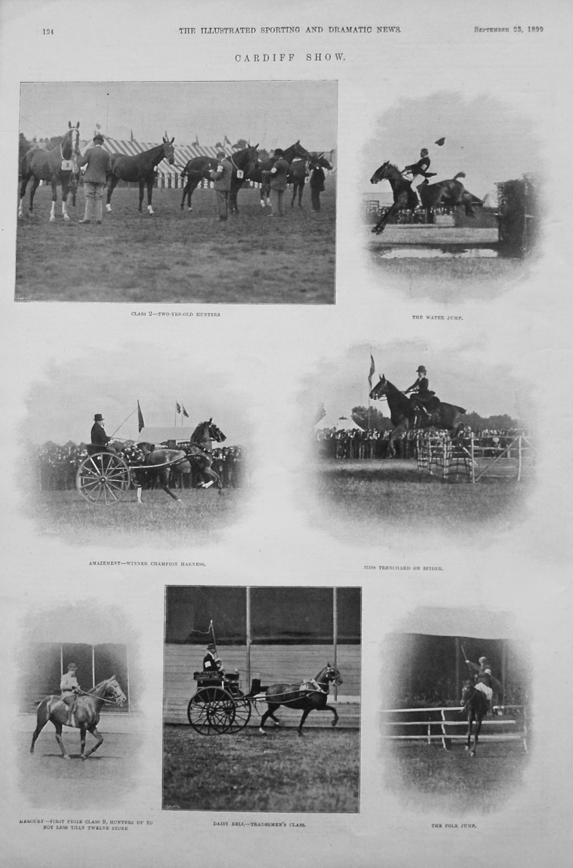 Cardiff Show. 1899