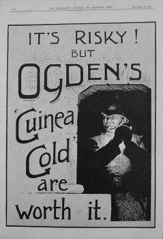 Ogden's Guinea Gold. 1899