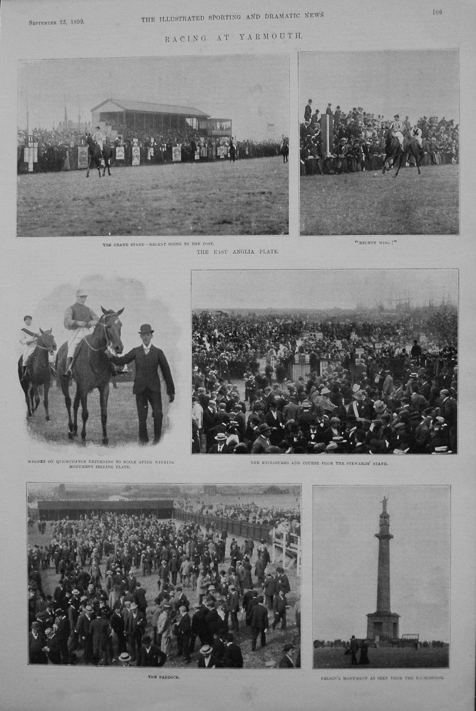 Racing at Yarmouth. 1899