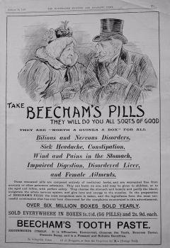 Beecham's Pills. 1900