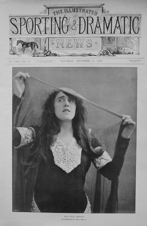 Miss Julia Neilson (as Constance in
