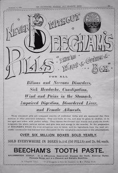 Beecham's Pills. 1899