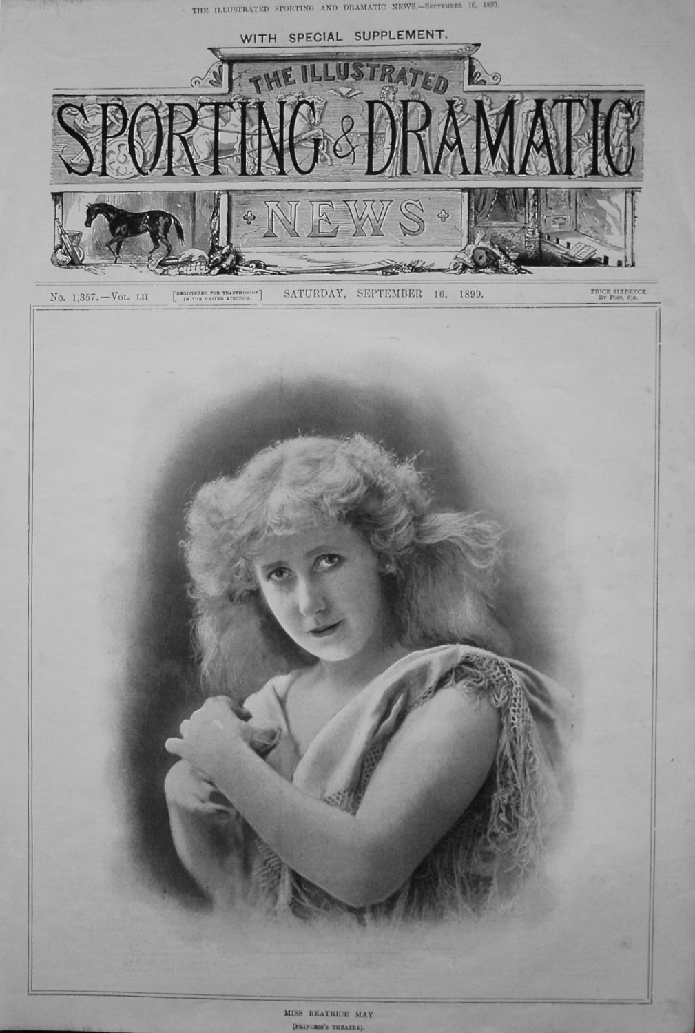 Miss Beatrice May. (Princess's Theatre). 1899