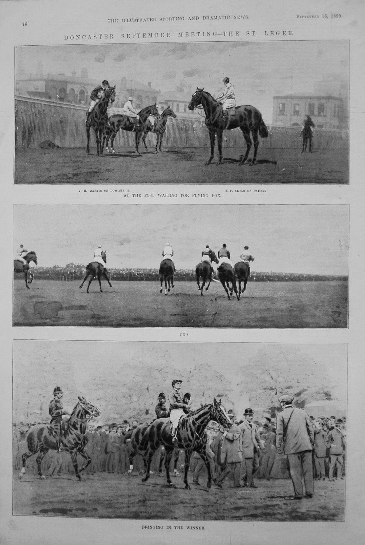 Doncaster September Meeting - The St Leger. 1899