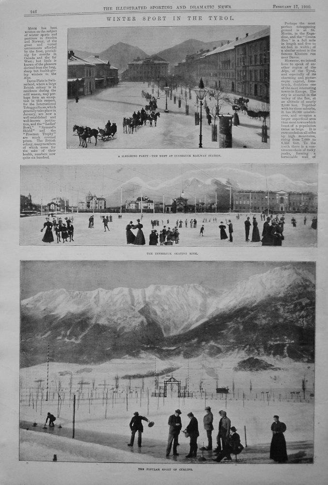 Winter Sport in the Tyrol. 1900