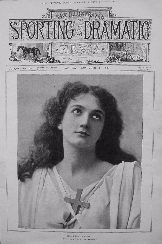 Miss Lillah McCarthy. (as Mercia in
