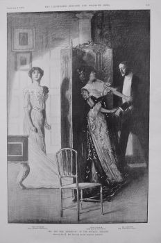 """""""Mr. and Mrs. Daventry"""" at the Royalty Theatre. 1900"""