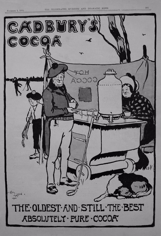 Cadbury's Cocoa. 1900