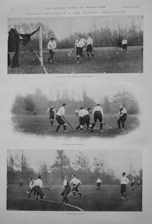 Oxford University  v. The Hockey Association. (Hockey) 1900